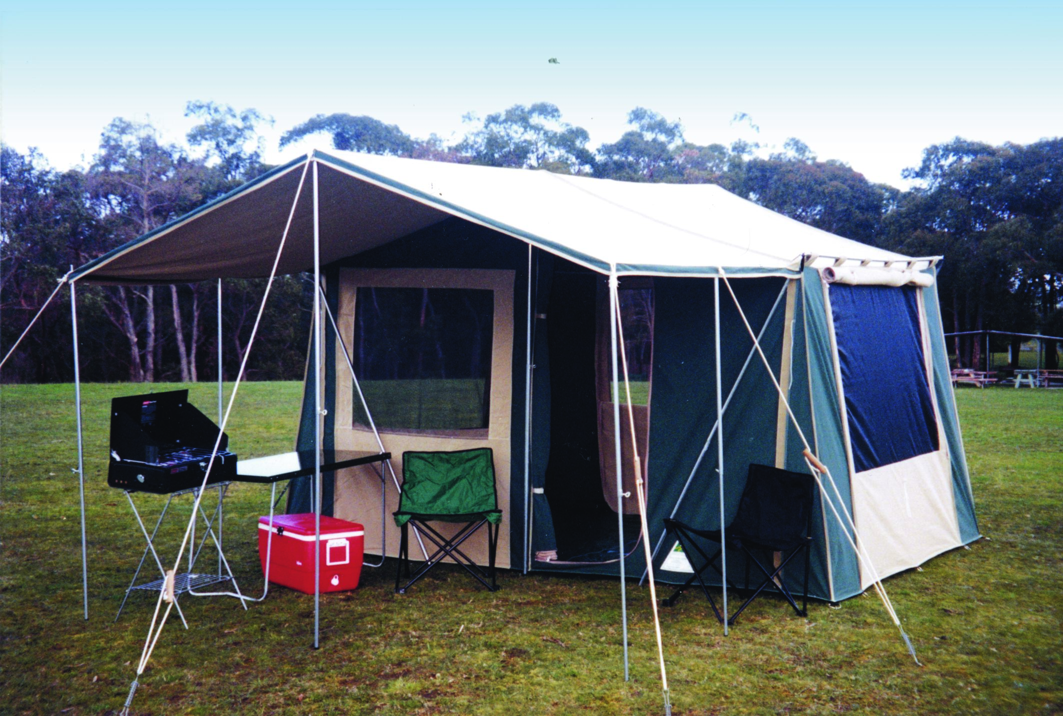 & Cabin Tent u2013 SunRoom Walls | Southern Cross Canvas Products