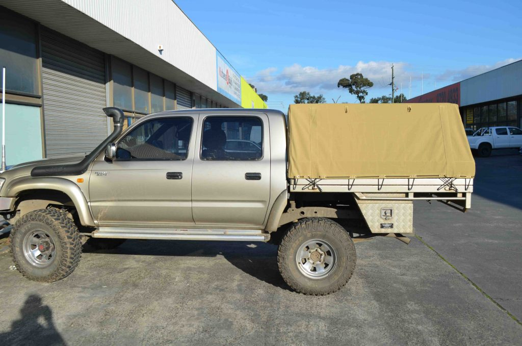 Canvas UTE Canopies for Sale in Australia | Southern Cross
